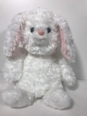 "Peek a Boo  Bunny White Stuffed 10"" Aurora World"