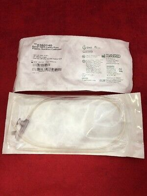 New Lot Of 20 Bard Plastic Suction Cath 0360140 14fr 22 See Listing