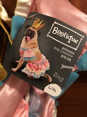 Bootique Princess Dog Halloween Costume Witch Hat L / XL