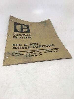 Caterpillar Cat 920 930 Wheel Loaders Operators Guide Manual