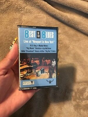 The Best of the Blues: Live at Newport in New York FREE Shipping! cassette tape (Best Live Blues Albums)