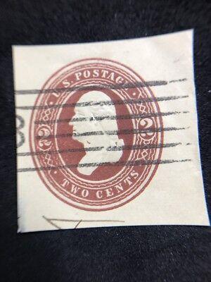 us cut square stamps Scott W292