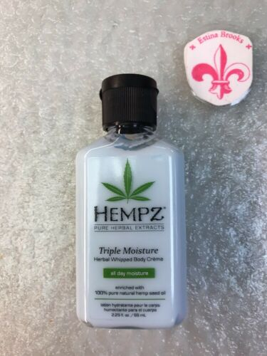 Natural, Triple Moisture Herbal Whipped Body Creme with 100%