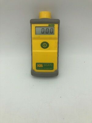 Kane-may Km Co Analyzer Sga70 Single Gas Coppm Wprotective Case