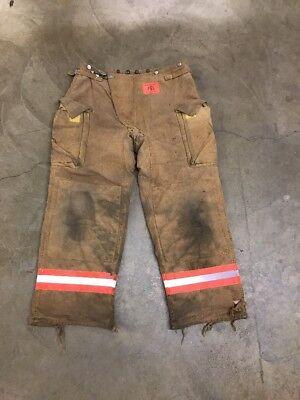 Morning Pride Bunker Gear Pants Turnout Pants Size 34x33