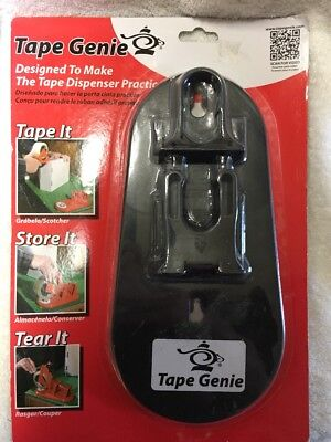 Tape Genie - Transforms Your 2 Tape Gun Into A Multi-purpose Tape Dispenser Nib