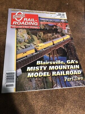 O Scale Railroading  Magazine  O Gauge Railroading  Train Run 178 February 2001