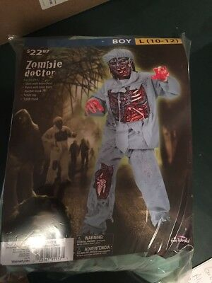 Halloween Costume Zombie Doctor Large - 10 Doctor Halloween Costume