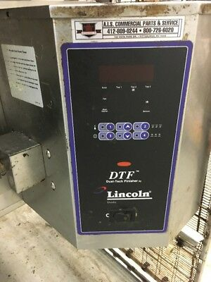 Lincoln Impinger Dtf Dual-tech Finisher Electric Conveyor Oven Pizza 1960 Subs
