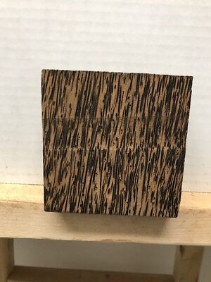 "BLACK PALM TURNING WOOD BOWL BLANK LATHE(4""X4""X2"")- 1 PIECE FREE SHIPPING"