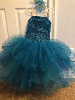 (Dance Costume Ballet Tutu Princess Ballerina Child Medium Halloween Mermaid)