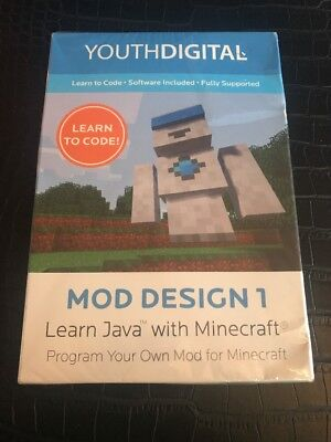 Mod Design 1   Kids Ages 8 14 Learn To Code In Java With Minecraft Pc   Mac New