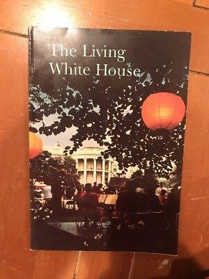 The Living White House Book Lady Bird Johnson Photo Washington DC 1966