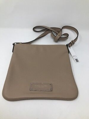 NEW! MARC JACOBS Too Hot To Handle Sia Crossbody/Messenger Bag Sandstone Neutral