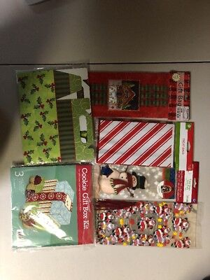 Holiday Treat Boxes (New - Assorted Holiday Treat Bag and Cookie Gift Boxes)