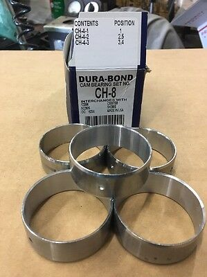 Dura Bond Sbc Cam Bearings ch8 Small Block Chevy CamShaft 350 400 305 327