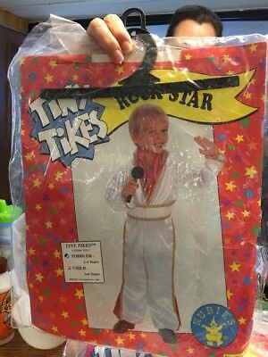 Tiny Tikes Elvis Rock Star Costume New 2-4 - Toddler Rock Star Costume