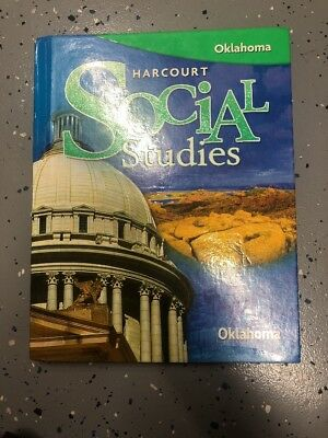 Harcourt Social Studies Oklahoma Textbook For Elementary. ISBN: 0153498617
