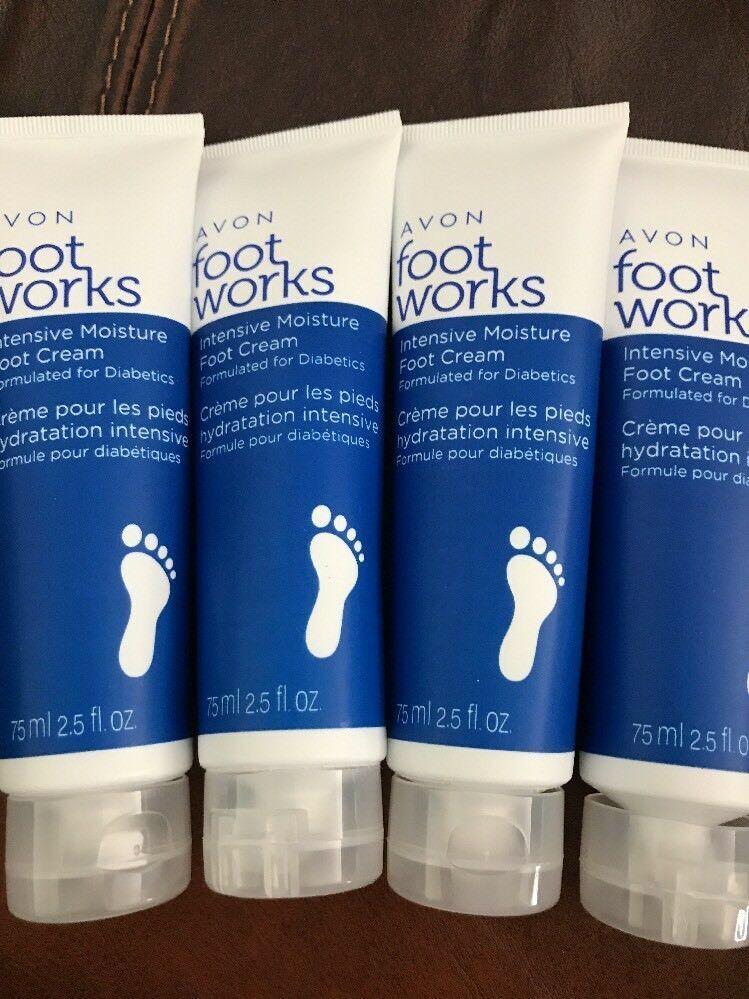 LOT OF 9 Avon Foot Works Intensive Moisture Foot Cream