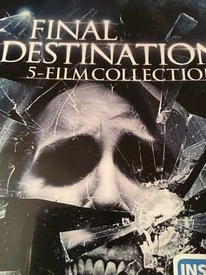 Final Destination: Complete Horror Movie Series 1 2 3 4 5 Box (DVD) NEW - Halloween Movie Series Box Set