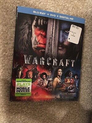 Warcraft   Bluray   Dvd   Digital Hd   Brand New