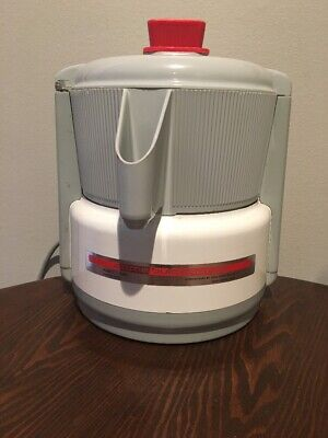 Vintage Acme Supreme Juicerator Model 5001 Food Juicer - Works