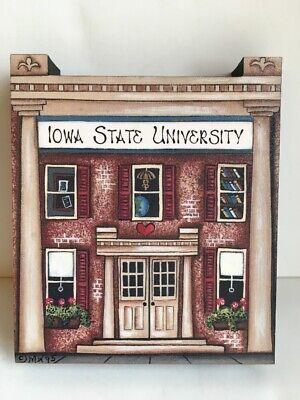 Brandywine Woodcrafts Houses Iowa State University Building Wood Shelf Sitter X