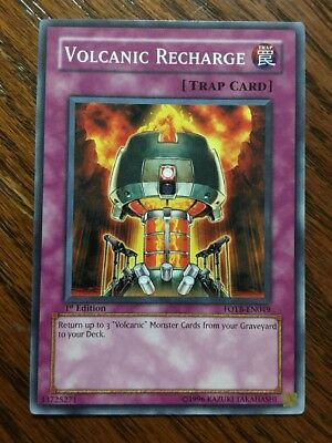 Volcanic Recharge - Volcanic Recharge FOTB-EN049 YuGiOh! Near Mint FORCE OF THE BREAKER 1st Ed x1