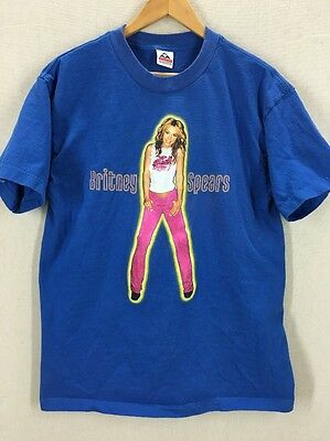RARE 2000 Britney Spears Oops... Concert Tour Tshirt Sz Adult Large