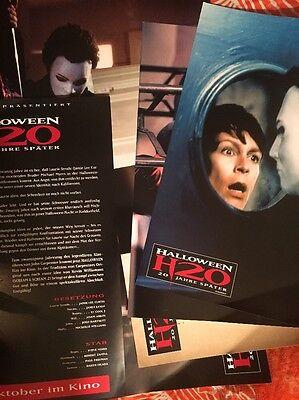 Halloween H20 German Lobby Cards Set Jamie Lee Curtis Josh Hartnett HORROR Photo