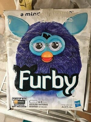 Furby Purple/Blue New In Crushed Box