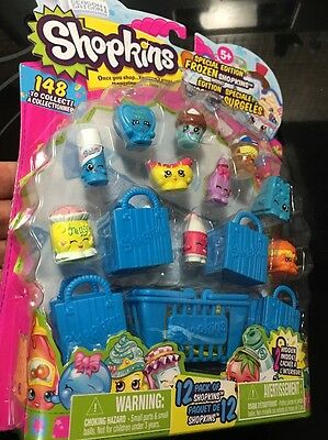 Season 1 Shopkins 12 Pack SPECIAL EDITION 2 Hidden RETIRED NOS