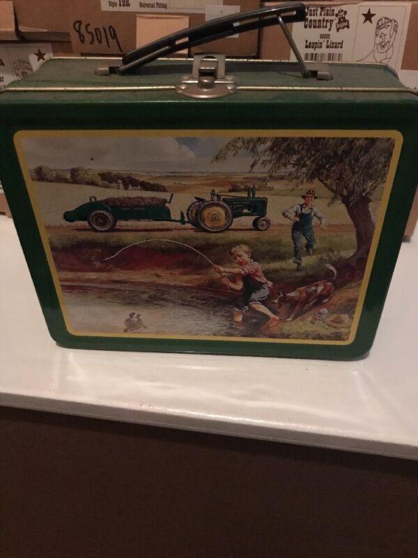 John Deere Tin Lunch Box