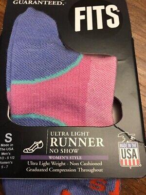 3 Pair Runner Sock (3 PAIR FITS ULTRA LIGHT RUNNER  RUNNING SOCKS SZ Small )