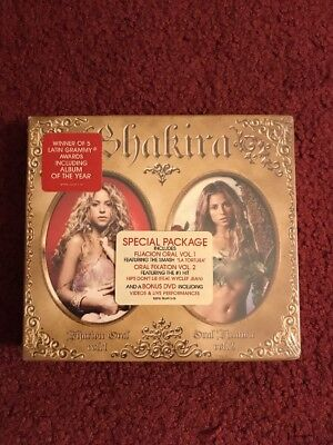 Shakira   Oral Fixation Volume 1   2 Brand New Special Package