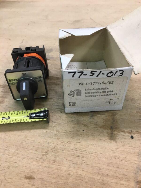 Klockner Moeller TO-1-3707.64/EZ Flush Mounting Cam Switch
