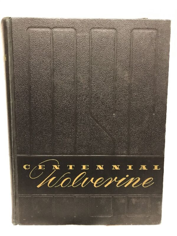 1955 Michigan State College University Centennial Yearbook *see Description*