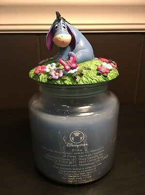 Disney Store Eeyore Winnie the Pooh Candle With Topper Children's Place Hoop