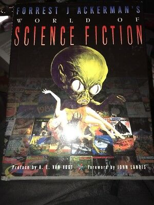 Forrest Ackerman's World of Science Fiction 1997 General Hardcover HC  Halloween