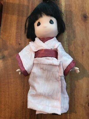 PRECIOUS MOMENTS 9'' Doll GEISHA GIRL Japanese The world's Children (CN)