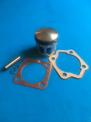 REED VALVE PISTON 66CC 80CC 2-Stroke Engine EXTRA HP + SOLID COPPER HEAD GASKET