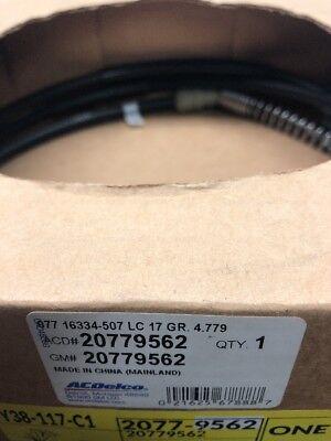 New Genuine GM 20779562 Right Rear Parking Brake Cable Express Savana Van Confir