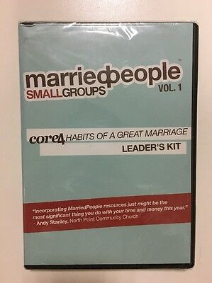 Married People Small Groups Volume One Core 4 Habits Of A Great Marriage  - 4 People Groups