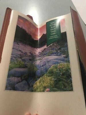 (Rand Mc Nally Atlas And Travel Guide 1994 In Nice Case Vintage )