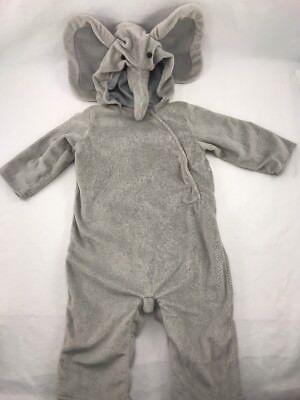 Pottery Barn Kids Cute Baby Elephant Costume 6 -12 months Halloween New - Cute Elephant Costume