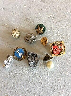 Vintage Lot Of Vintage Lapel Pins