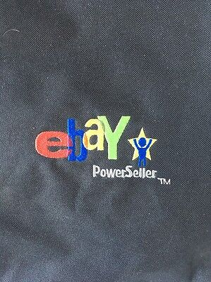 Ebay Live 2008 Power Seller Logo Tote Bag Embroidered Black Red Green BlueYellow