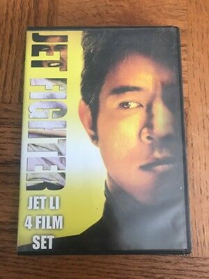 The Jet Fighter Collection: Jet Li 4-Film Set (DVD, 2008, 2-Disc Set)