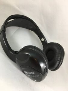 Audiovox Wireless Headphones Automotive Infrared Stereo IR Volume Control *F32