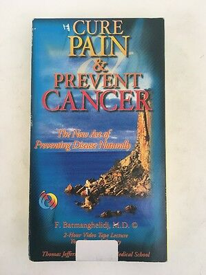 Cure Pain & Prevent Cancer The New Art Of Preventing Disease Naturally VHS 1998